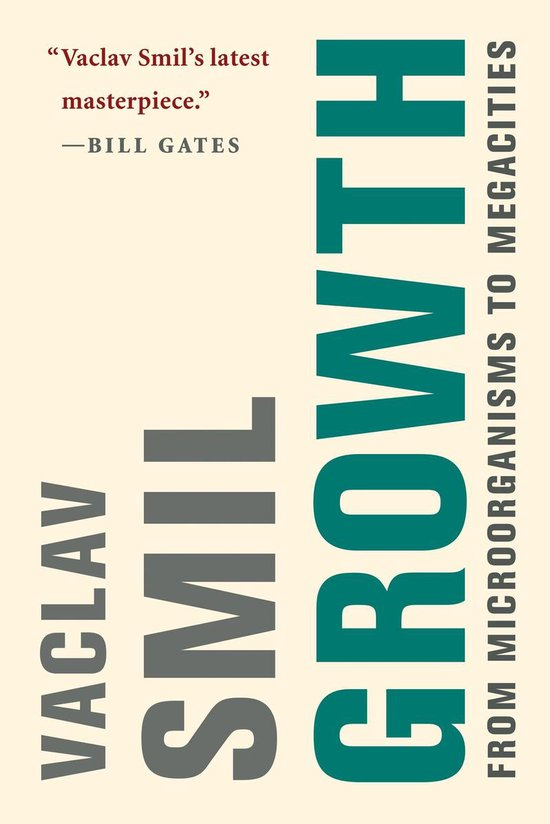 Boek cover Growth van Vaclav Smil (Paperback)