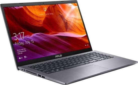 ASUS P509JA-BQ297R Notebook Grijs 39,6 cm (15.6'') 1920 x 1080 Pixels Intel® 10de generatie Core™ i5 8 GB 256 GB SSD Wi-Fi 5 (802.11ac) Windows 10 Pro