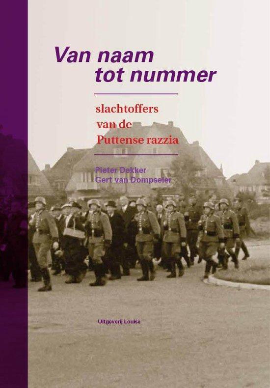 Van naam tot nummer - Pieter Dekker |