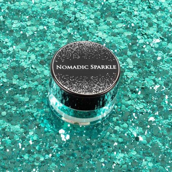Biodegradable Festival Glitter - Turquoise Shimmer