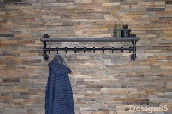 Design85 - Steigerbuis - kapstok - wand