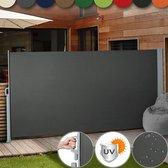 Gardington Windscherm Uittrekbaar – Weerbestendig – Zonnescherm met UV Bescherming – Tuin Meubelen – Camping Artikelen – Zomer – Ruimtebesparend en Makkelijk te Installeren - Meerdere Kleuren – 160 X 300 cm