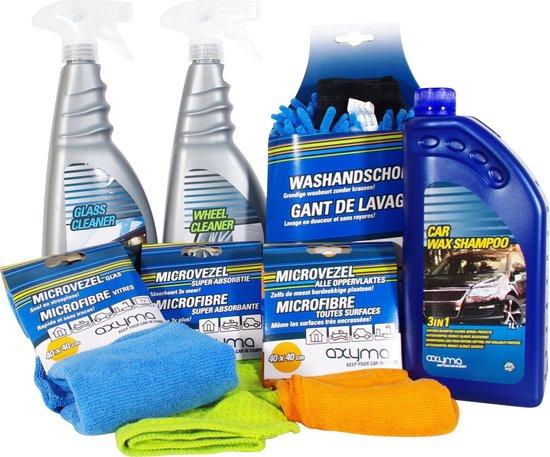 Axyma Car Care Kit 7-delig. Autowasset