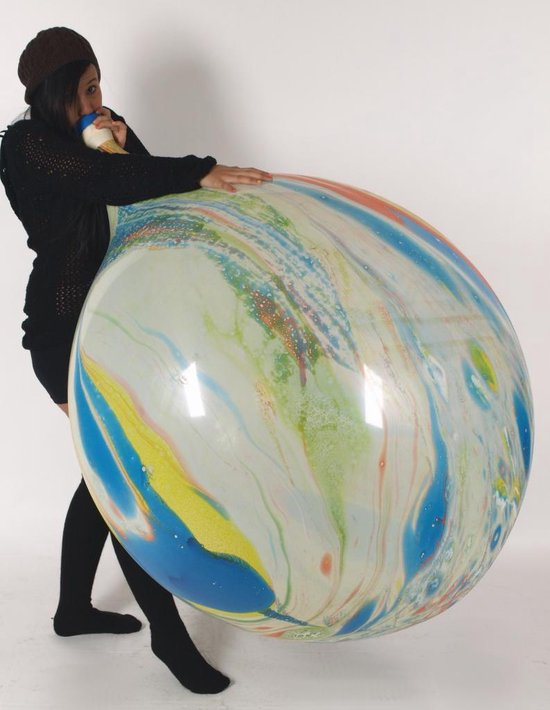 2 Cattex reuze ballonnen - Marmer Print - 36 inch - 90 cm - grote ballonnen