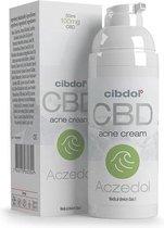 Cibdol Aczedol CBD crème - 50ml (tegen acné)