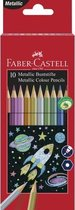 Kleurset FC 10 potloden - metallic kleuren