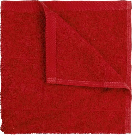The One Keukendoeken Rood 50x50cm 5 stuks