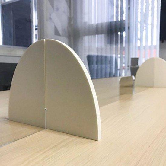 Spatscherm - 100 cm x 60cm - Smalle opening