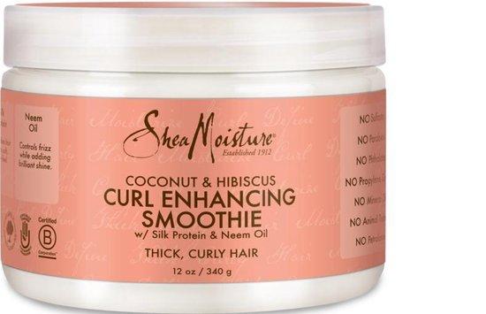 Shea Moisture Coconut & Hibiscus Curl Enhancing Smoothie Haarcrème - 340 g