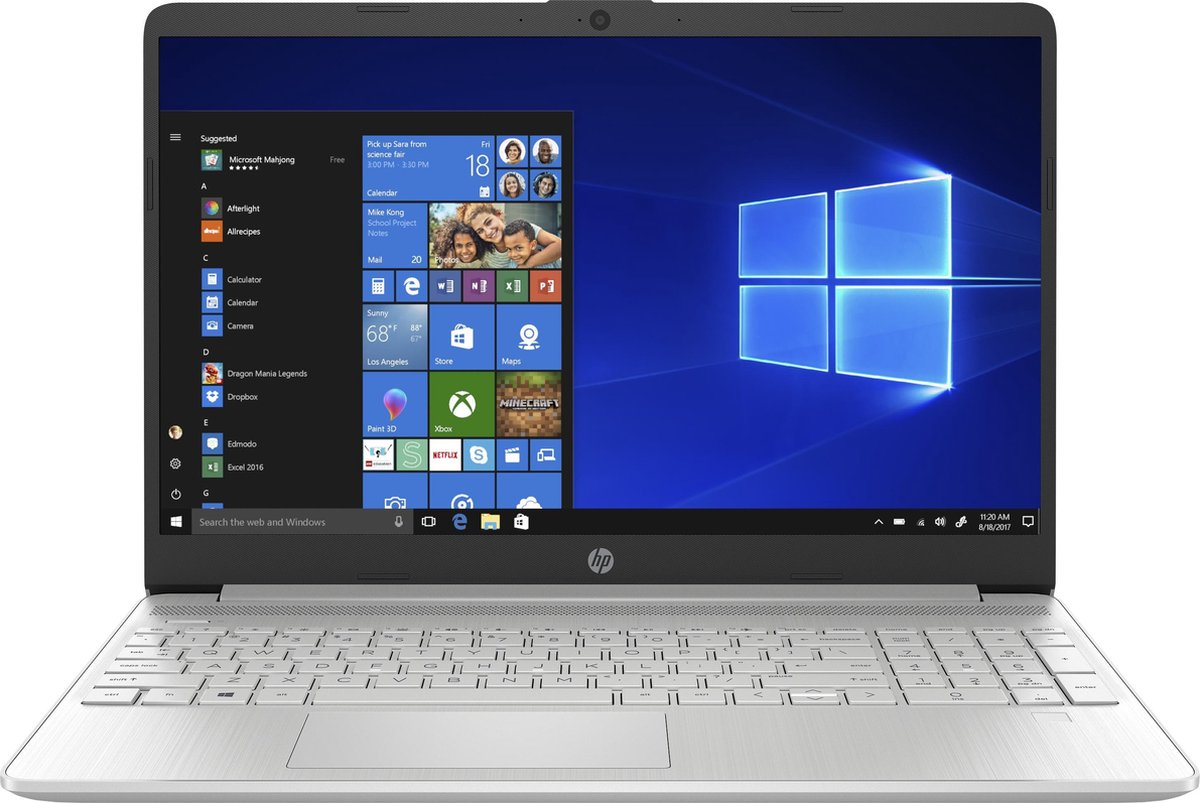 HP 15s-fq1008nd - Laptop - 15.6 inch