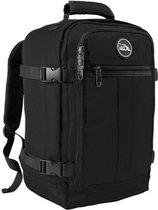 CabinMax Metz – Handbagage 20L – Rugzak – Schooltas - 40x25x20 cm – Compact Reistas – Lichtgewicht – Zwart