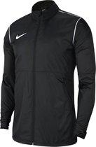 Nike Park 20 Regenjas  Sportjas - Maat 158  - Unisex - zwart/wit