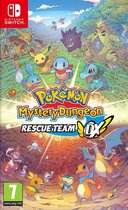 Cover van de game Pokémon Mystery Dungeon: Rescue Team DX - Switch