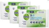 Dettol - Hygiënische Anti Bacteriële doekjes - 3 PACK x 12 doekjes