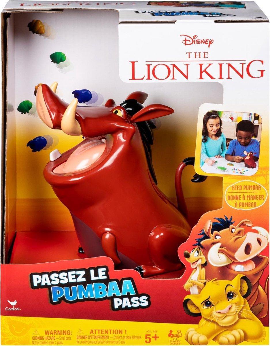 Lion King Pass Pumbaa