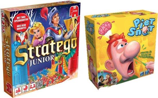 Afbeelding van het spel Kinderspelvoordeelset Stratego Junior & Piet Snot