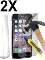 GRATIS 1 + 1    iPhone 5 / 5S / 5C / SE  Glazen tempered glass / Screen protector 2.5D 9H (0.3mm)