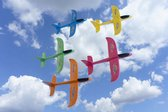 5 XL Foam Vliegtuigen - Uitdeelcadeautjes zweefvliegtuig kinderen - Vliegtuig Bouwpakket - Verjaardag Cadeau - PlayMaxx