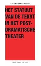 Het Statuut van de tekst in het postdramatische theater