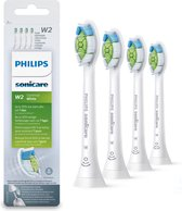 Philips Sonicare W2 Optimal White  HX6064/10 - opzetborstels - 4 stuks