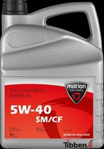 Motion 5W-40 A3/B4 Full Synthetic 5L