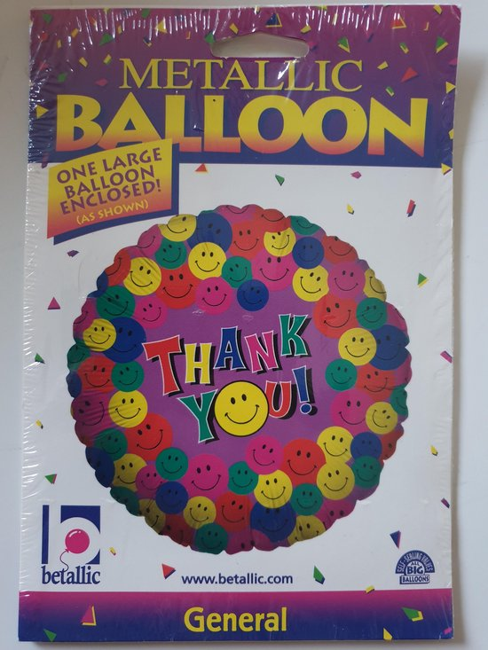 Folie ballon Thank You