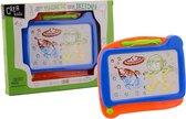 Crea Kids magnetisch kleuren tekenbord 19x17 cm