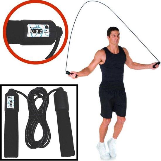 Springtouw met teller - Touwtje springen - Sport artikelen - Fitness