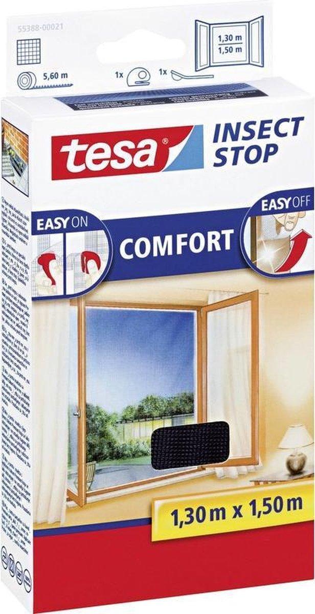 Tesa Comfort Raamhor - 130x150 cm - Antraciet