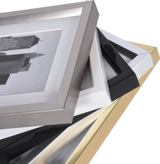 Fotolijst - Henzo - Metallica - Fotomaat 40x40 - Zilver - Henzo