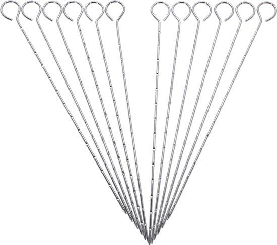 Afbeelding van Barbecue pennen 12 stuks - 27 cm