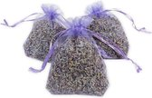 Lavendel zakjes - 3 stuks - 6 gram - losse lavendel - zakje - natuurlijk - kruiden - nachtrust