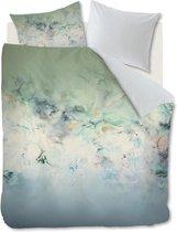 Kardol Alternation - Dekbedovertrek - lits-jumeaux - 240x200/220 cm - Blauw Groen