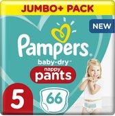 Pampers Baby-Dry Pants - Maat 5 (12kg-17kg) - 66 Luierbroekjes - Jumbo+ Pack