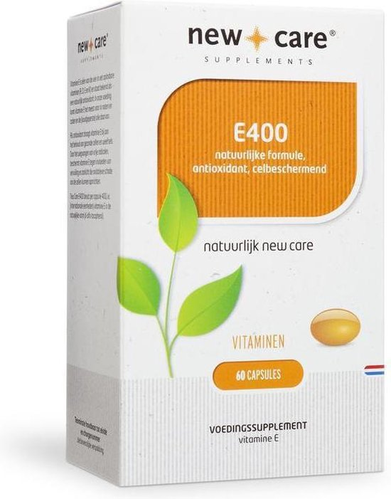 New care vitamine E 400 - 60 capsules - Voedingssupplement