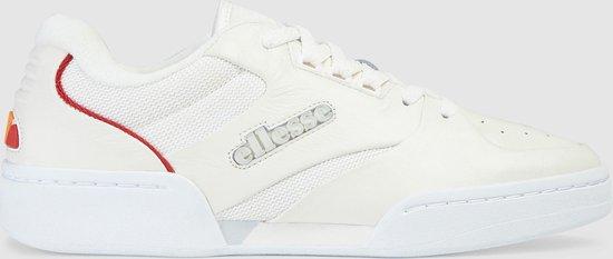 Ellesse Tremiti Heren Sneakers - Wit/Lichtgrijs/Rood - Maat 40.5