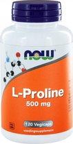 Now L-Proline 500 mg Capsules 120 st