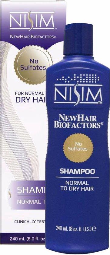 Nisim Shampoo voor Normaal tot Droog haar - 240 ml - Anti-Haaruitval - anti-psoriasis