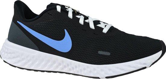 Nike Revolution 5 BQ3204 004, Mannen, Zwart, Hardloopschoenen maat: 45,5 EU