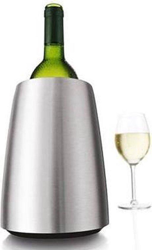 Vacu Vin Rapid Ice Wijnkoeler - RVS
