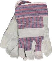 Werkhandschoenen 1 paar voor heren - Tuinier handschoenen - Werk/bouw handschoenen - Klusbenodigdheden