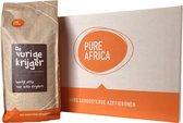 Pure Africa | De Vurige Krijger koffiebonen - 8 x 1 kg