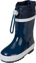Playshoes regenlaarzen marine streep wit