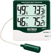 EXTECH 445713: Big Digit Indoor/Outdoor Hygro-Thermometer