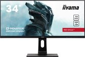 iiyama GB3461WQSU-B1 - 34'' UWQHD Gaming IPS monitor (144Hz, 1ms)