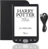 KIMO DIRECT E-INK E-book reader GRIJS - Beste E-ink Reader - 16GB - Incl Beschermhoes + USB adapter - échte Boek ervaring - Spatwaterdicht - 6 inch - Ultra licht 9mm dun - Cadeau tip - E-ink BESTE KOOP