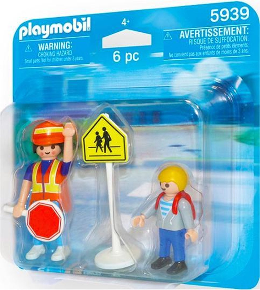 Playmobil DuoPack Crossing guard and child - 5939