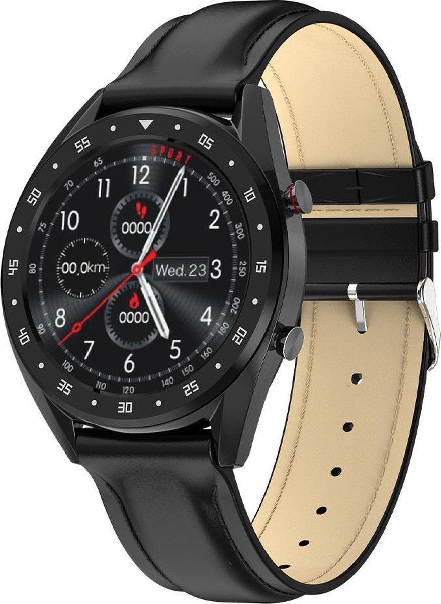 Lipa Mana L7 smartwatch / Bluetooth call / Met hartslagsensor, bloeddrukmeter, caloriemeter, stappenteller / IP68 waterproof / Voor Android en IOS / 7 Dagen batterijduur / Bluetooth push en call voor notificaties en bellen kopen