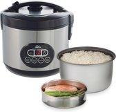 Solis Rice Cooker Duo Programm 817 - Rijstkoker en Stoomkoker - Groente Stomer