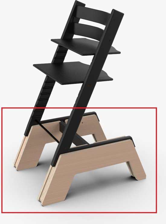 Stokke Kinderstoel Verhoger voor Tripp Trapp stoel - Kookeiland - Boosterme – Hout